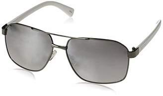 Rocawear Men's R1494 Gunwh Non-polarized Iridium Aviator Sunglasses