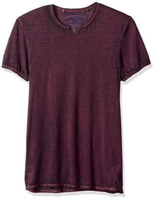 Buffalo David Bitton Men's Tosset Short Sleeve Crew Neck T-Shirt