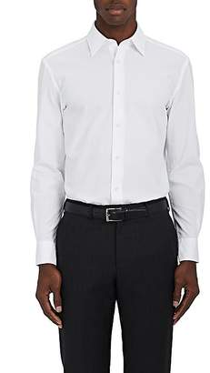 Piattelli MEN'S HONEYCOMB COTTON SHIRT