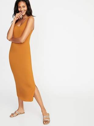 Old Navy Fitted Midi Tank Dress for Women