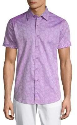 Robert Graham Cotton Paisley Shirt