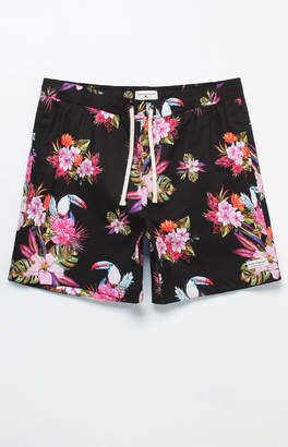 "Modern Amusement Toucan 17"" Swim Trunks"