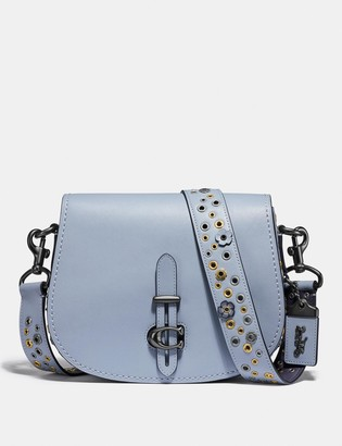 Coach Saddle With Scattered Rivets