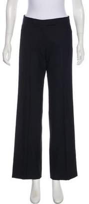 Leroy Veronique Mid-Rise Wide-Leg Pants