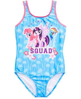 64568d08ad7fa My Little Pony Dreamwave Little Girls Graphic Swimsuit
