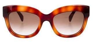 Valentino Rockstud Tinted Sunglasses