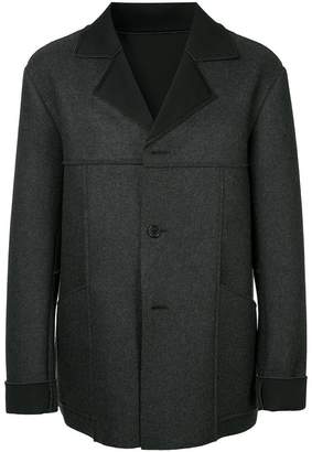Zambesi raw edge loose fit jacket