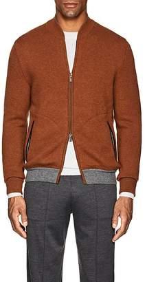 Ermenegildo Zegna Men's Cashmere Zip-Front Sweater
