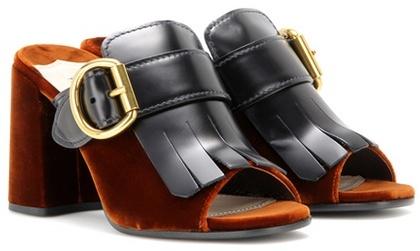 pradaPrada Leather Mules