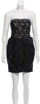 Jason Wu Strapless Mini Dress