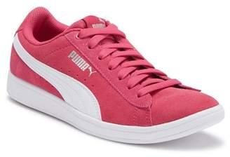 Puma Vikky Jr. Suede Sneaker (Big Kid)