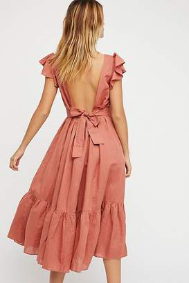 Endless Summer Takin A Chance Midi Dress