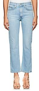Brock Collection Women's Wright Straight Jeans - Lt. Blue