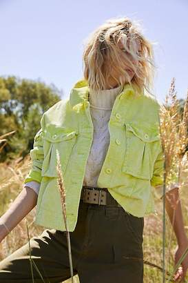 Free People Part Time Love Cord Jacket
