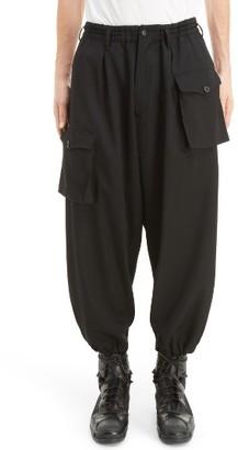 Men's Yohji Yamamoto Wool Gabardine Pants $1,240 thestylecure.com