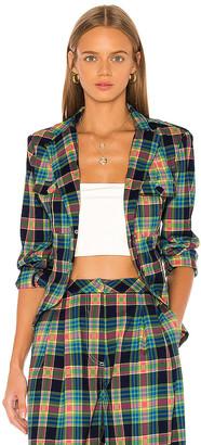GRLFRND Loren Plaid Jacket