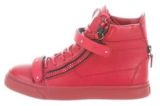 Giuseppe Zanotti London High-Top Sneakers w/ Tags