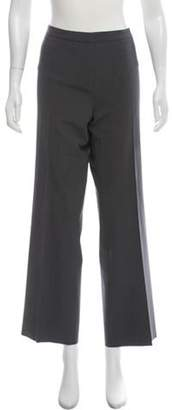 Loro Piana Mid-Rise Wool Pants Grey Mid-Rise Wool Pants