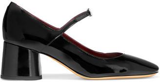 Marc Jacobs - Nicole Patent-leather Mary Jane Pumps - Black $450 thestylecure.com