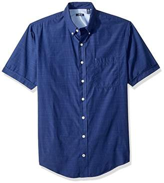 Izod Men's Big and Tall Saltwater Breeze Solid Short Sleeve Shirt