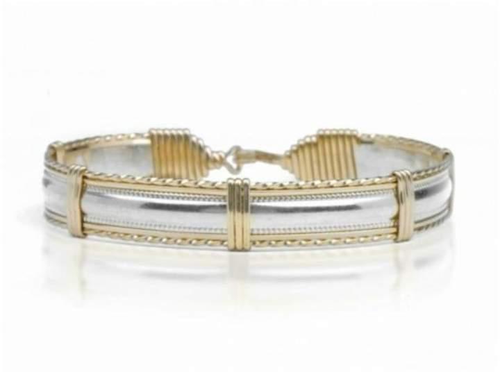 Ronaldo Designer Jewelry Dome Bracelet