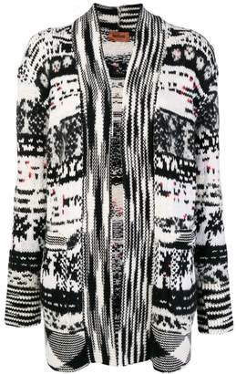 Missoni pixelated pattern cardigan