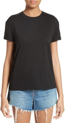 Women's T By Alexander Wang Superfine Jersey Tee $115 thestylecure.com