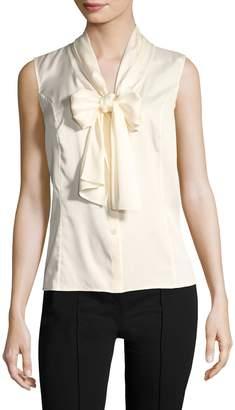 Carolina Herrera Women's Tie Neck Blouse