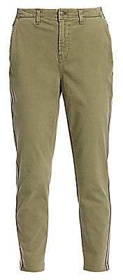 L'Agence Women's Jem High-Rise Racing Stripe Pants