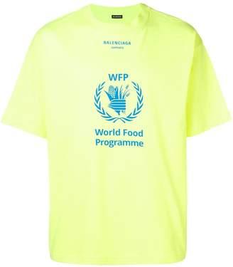 Balenciaga WFP logo print t-shirt