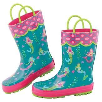 Stephen Joseph All Over Mermaid Print Rain Boot