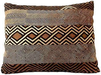 One Kings Lane Vintage African Kuba Raffia Pillow