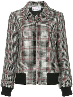 RED Valentino houndstooth jacket