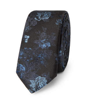 Dolce & Gabbana 4cm Silk-Jacquard Tie - Navy