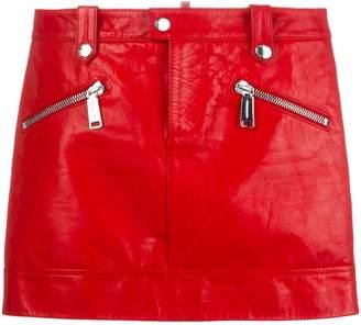 DSQUARED2 zipped mini skirt