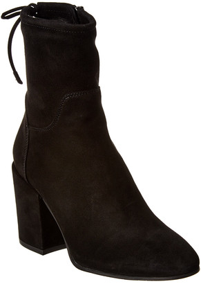 Aquatalia Fairen Waterproof Dress Suede Bootie