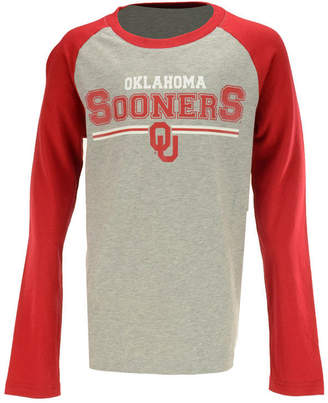 Outerstuff Oklahoma Sooners Field Line Long Sleeve T-Shirt, Big Boys (8-20)