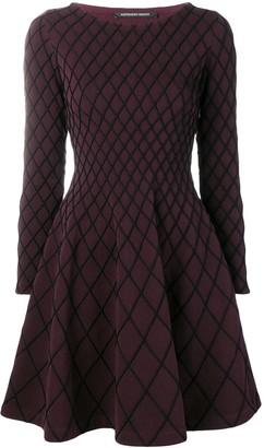 Valenti Antonino geometric pattern dress