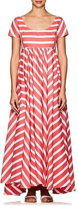 Thierry Colson Women's Romy Striped Cotton Maxi Dress