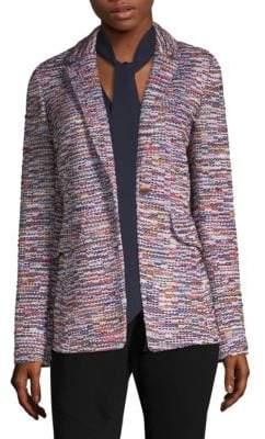 St. John Multi-Color Tweed Jacket