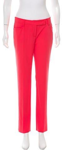 Emilio Pucci Virgin Wool Straight-Leg Pants w/ Tags
