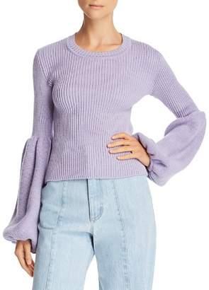 Ksenia Schnaider Poet-Sleeve Sweater - 100% Exclusive