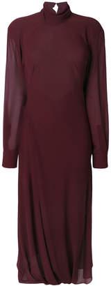 Victoria Beckham long flared dress