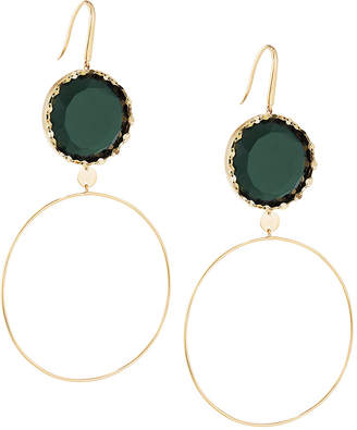 emerald single earring earrings green stone watch awesome hqdefault designs
