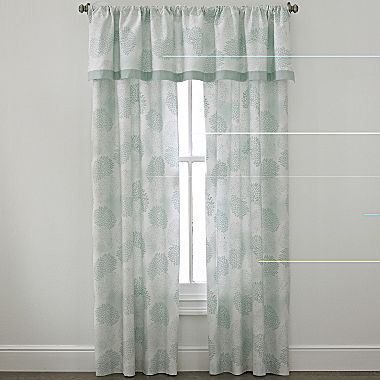 JCPenney Cindy Crawford Style® Primrose Floral Window Coverings