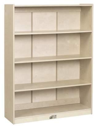 ECR4Kids 48in H Classic Birch Bookcase