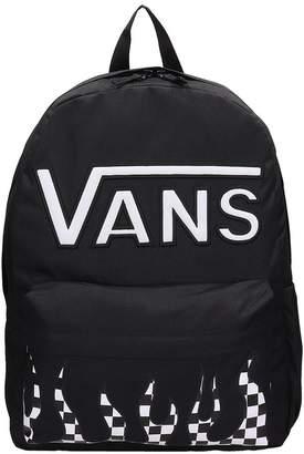 Vans Black Canvas Real Flying Backpack