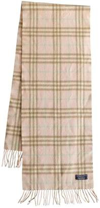 Burberry Pink Wool Scarves
