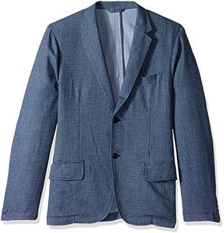Michael Bastian Men's Cotton Dobby Deconstructed Blazer