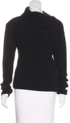 DKNY Wool Long Sleeve Sweater